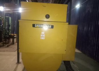 2000 kva gas gen fairly used