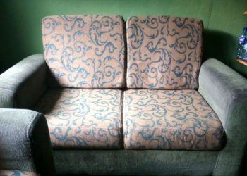 Fairly Used Double Seater Living Room Sofa for Sale