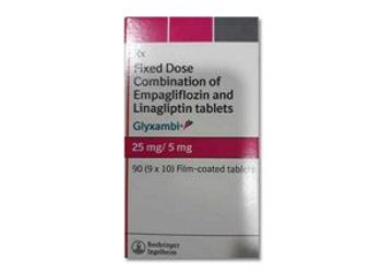 Buy Glyxambi 25 Mg/5 Mg Tablet Online At Best Price