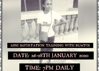 MINI IMPORTATION TRAINING WITH BUMTOS