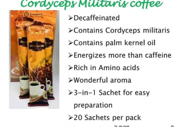 Longrich Cordyceps Militaris Decaffeinated Coffee