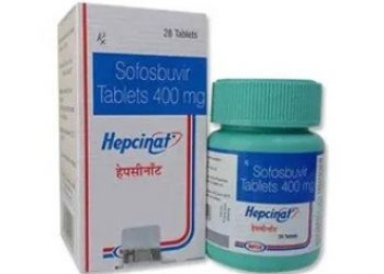 Buy Hepcinat Online | Natco Sofosbuvir 400 mg Tablet at Low Price in Nigeria
