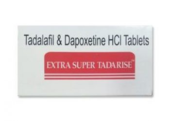 Extra Super Tadarise Tablet – Sunrise Tadalafil 40 mg and Dapoxetine 60 mg