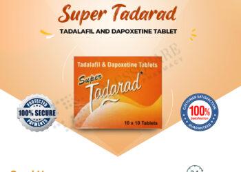 Super Tadarad Tablet Price – Buy Tadalafil/Dapoxetine Online in Nigeria