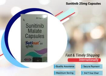 Buy Sutinat 25 mg Online | Natco Sunitinib Capsule at Lowest Price in Nigeria